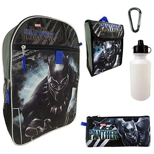 Marvel Black Panther Backpack 5-Piece Set