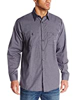 Red Kap Men's RK Micro Check Uniform Shirt