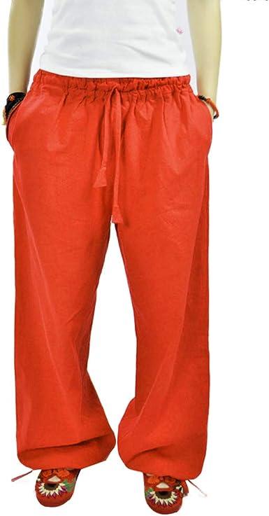 Mujer Moda Ancho Pierna Pantalones Largo Comodo Pantalon De Cintura Elastica Elegantes Loose Fit Leggings Casual Yoga Pantalon Con Cordon Streetwear Amazon Es Ropa Y Accesorios