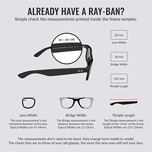 Ray-Ban Rb1971 Classic Metal Square Sunglasses