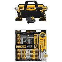 Dewalt 20V Drill and Driver Kit + 40-Pc. Screw Driving Set