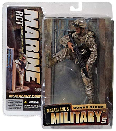 MARINE RCT * CAUCASIAN VARIATION * McFarlane's Military Series 5 Action Figure &