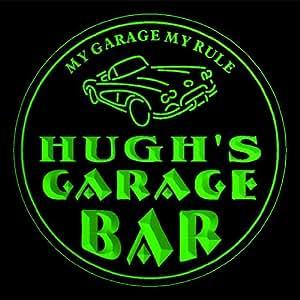 4 x ccpp0254-g Hugh es de garaje de sótano cerveza 3D posavasos