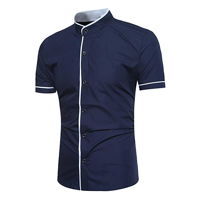 ZARLLE Camiseta para Hombre Camisetas Hombre Originales Manga Corta Verano Moda Polos Personalidad Casual Remera Slim Camisas Blusa Tops: Amazon.es: Ropa y ...