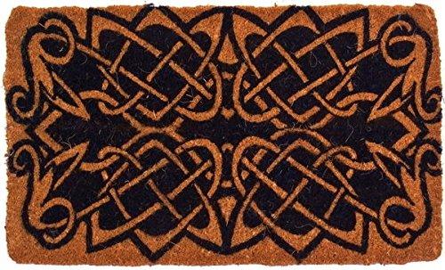 """Coco Mats N More BCCELT1830 Celtic Knots Design Coco Doormats,18"""" X 30"""" X 1"""" Thick"""