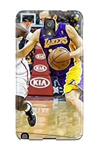 Hot los angeles lakers nba basketball (76) NBA Sports & Colleges colorful Note 3 cases