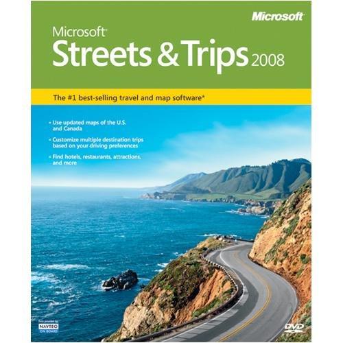 Microsoft Streets Trips 2008
