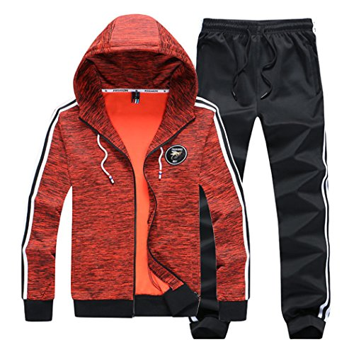 Modern Fantasy Boy's Casual Hoodie Jacket and Pants Suits Sport Activewear Tracksuit