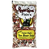 Ragin Cajun Fixin's Ten Bean Soup with Seasoning and Vegetables, 16-Ounce Bags (Pack of 12)