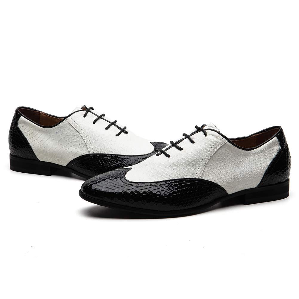 JITAI - Zapatos Zapatos Zapatos Planos con Cordones de Cuero Hombre 560269