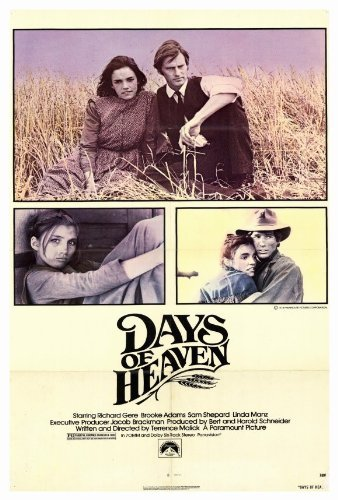 Days of Heaven POSTER Movie (27 x 40 Inches - 69cm x (Heaven Movie Poster)