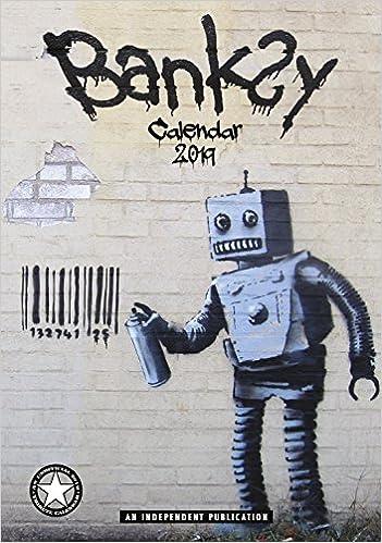 banksy calendar calendars 2017 2018 wall calendars modern art calendar poster calendar monthly calendar by dream