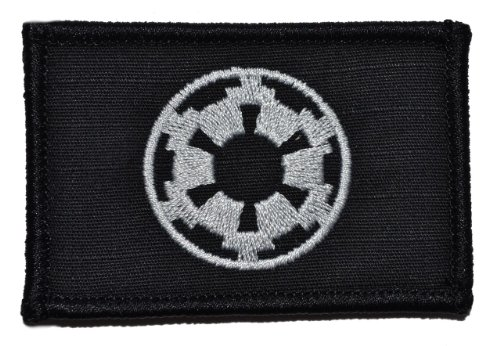 Galactic Empire Imperial Seal 2x3 Morale Patch - Black