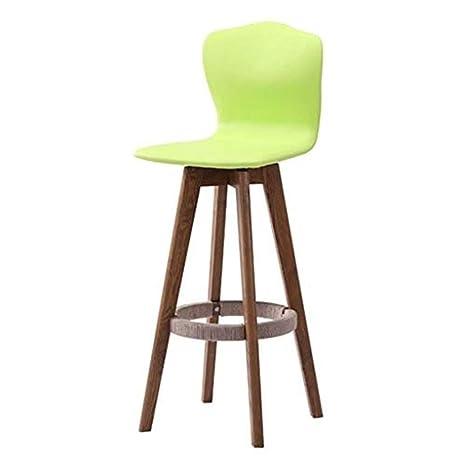 Amazon.com: Home Furniture Retro Bar Stools,Swivel Kitchen ...