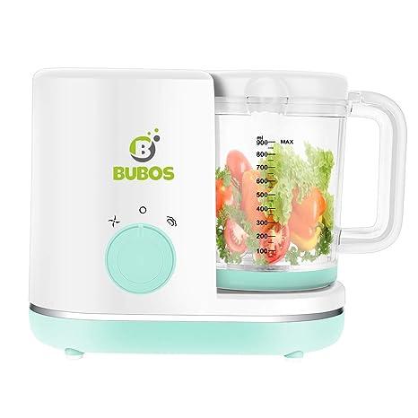 Bubos 5 en 1 Smart Baby Food Maker con olla de vapor, licuadora ...