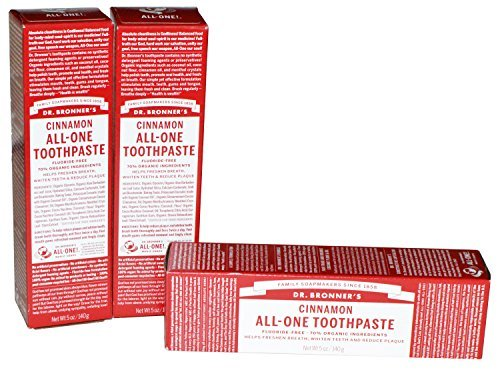 Dr Bronner's Cinnamon All-One Toothpaste by Dr. - Mall Shopping Hawthorn