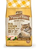 Merrick Purrfect Bistro Grain Free Real Chicken Recipe Dry Cat Food, 4-Pound
