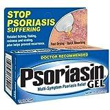 Psoriasin Multi-Symptom Psoriasis Relief Gel, 0.75 Ounce Tubes (Pack of 3)