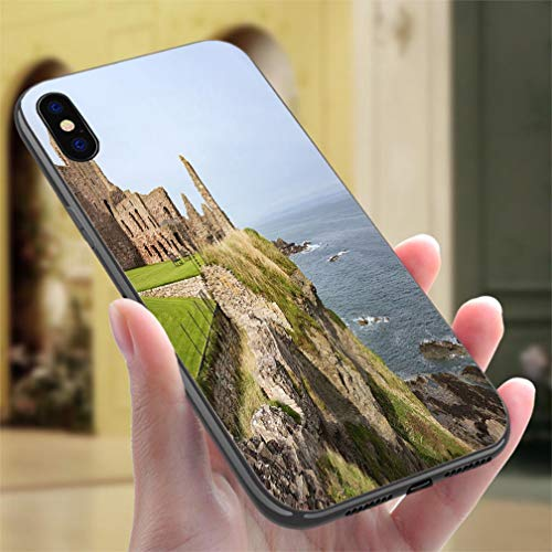 Tantallon Castle - Creative iPhone Case for iPhone 7/8Tantallon Castle Resistance to Falling, Non-Slip,Soft,Convenient Protective Case