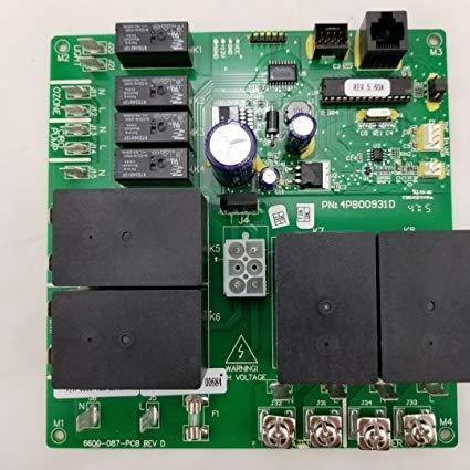 Sundance Spas Jacuzzi Circuit Board 2 pump logic Part number 6600-720