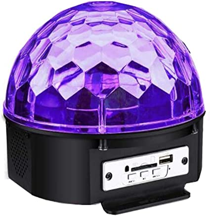 Iluminación Disco bola 4 modos Música controlada Bola mágica Luz ...