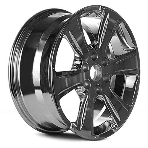 (Replacement 6 Spokes Bright Polished Factory Alloy Wheel Fits Buick Rainier)