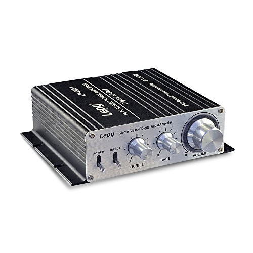 Lepy Hi-Fi Mini Stereo Power 50W x 2 Rms Class-T Digital Home Audio Amplifier, LP-2051 (thorfireau104) System 50w Amp