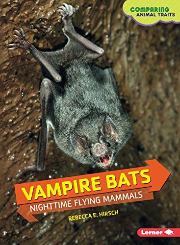 Species Bat (Vampire Bats: Nighttime Flying Mammals (Comparing Animal Traits))
