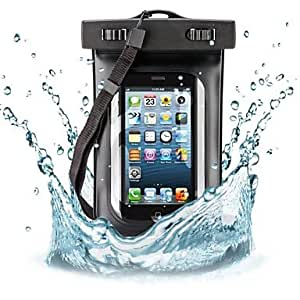 ZCL10M Deep Diving Waterproof Pouch for iPhone 4/4S/5/5C/5S (Assorted Colors) , Black