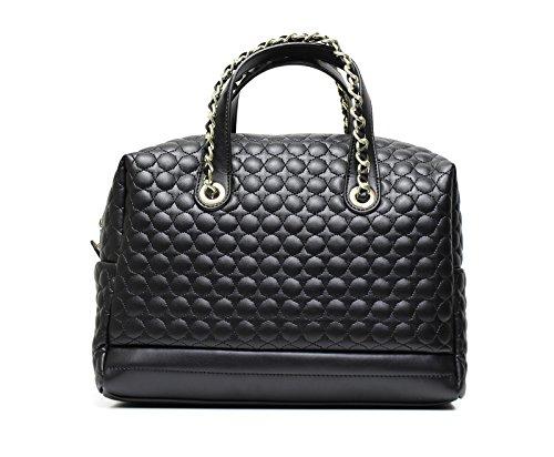 Nero Giardini schwarze gesteppte Tasche