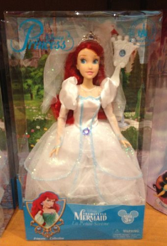 Ariel Doll From The Little Mermaid - Wedding Edition - Exclusive from Disney Parks -