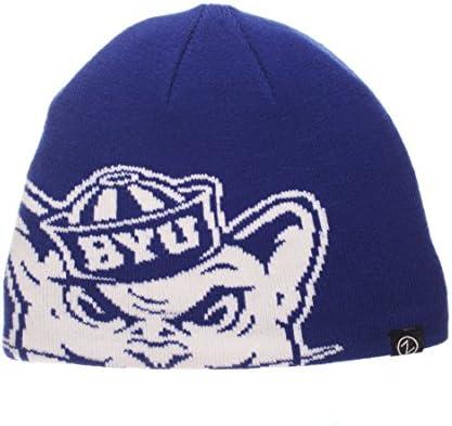1fe801ab423 Amazon.com   ZHATS NCAA BYU Cougars Youth Peek Knit Beanie ...