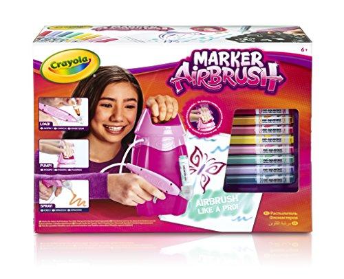 Crayola 04-8732-e-000 Marker Airbrush Hobby Kit–Pink by Crayola (Image #3)