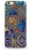 Casetic | iPhone 6, 6S Schutzhülle Oriental TPU Hülle Cover Handyhülle Bumper leichte Handytasche Hülle mit Foto Silikon Case Hüllen sorgen für kratzfesten Schutz (iPhone 6, 6S, Oriental)