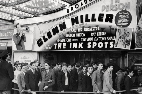 The Ink Spots Glenn Miller & His Orchestra at Broadway theater 24x36 Poster from Silverscreen