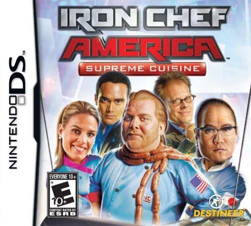 Free Iron Chef America/Supreme Cuisine - Nintendo DS