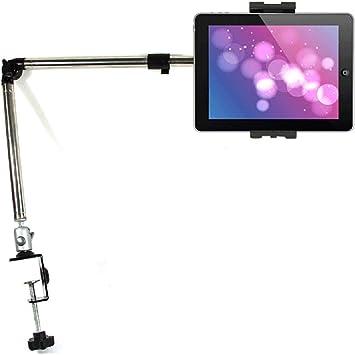 Adjustable Arm 360º Lazy Bed Car Desk Kitchen Mount Stand Clip Holder for Tablet