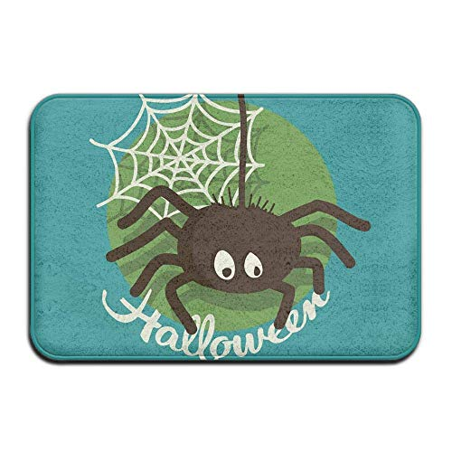 Carl McIsaacDoor Absorbent Room Entrance Doormat, Spider Halloween, Kitchen Bathroom Bedroom Living Room Entrance Mat 16 x 24 Inch