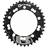 Rotor QX2 Outer Chainring Black, 104-38t