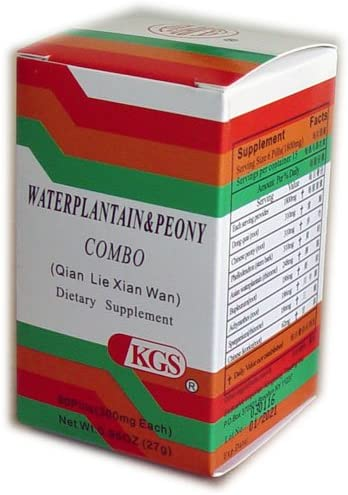 Waterplantain and Peony Combo Qian Lie Xian Wan 4 Bottle