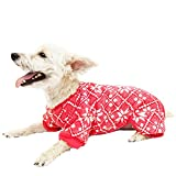 Hotel Doggy Fair Isle Red PJs, X-Small, Cranberry For Sale