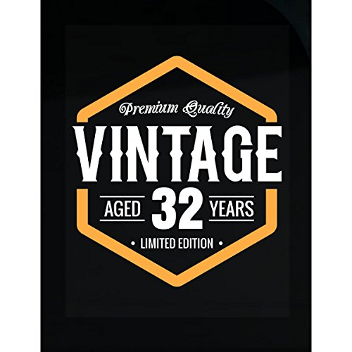 Vintage 32nd Birthday Gift - (32nd Birthday Rock)