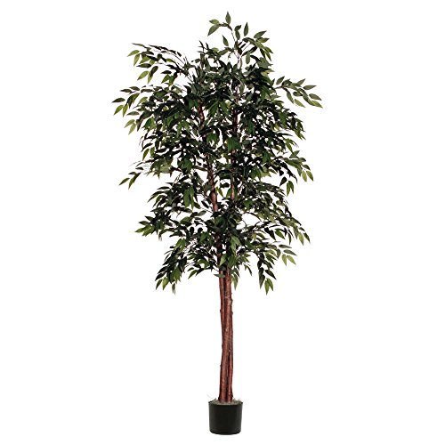 Vickerman TDX1460-07 Everyday Smilax Tree, Green, 6' by Vickerman
