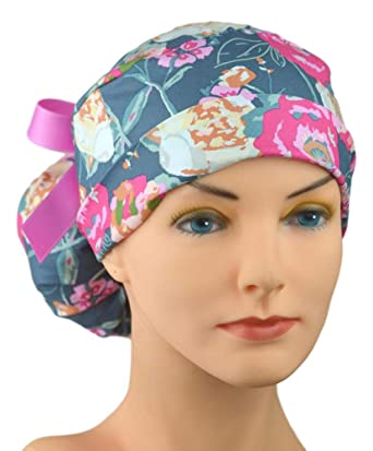 672a5291 Amazon.com: The Perfect Fit Ponytail Scrub Hat Original Design Best ...