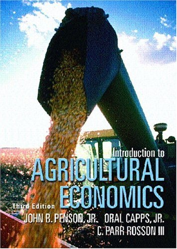 Introduction to Agricultural Economics (3rd Edition)
