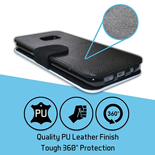 STUFF4 PU Leather Wallet Flip Case/Cover for Apple iPhone X/10 / Pack 10pcs Design / Hazard Warning Signs Collection by Stuff4® (Image #4)