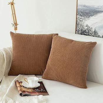 Amazon Com Miulee Pack Of 2 Decorative Throw Pillow