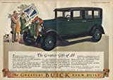 The Greatest Gift of All - Buick for Christmas ad 1927 LD