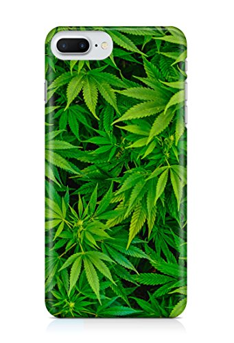 COVER Marijuana weed Blatt Handy Hülle Case 3D-Druck Top-Qualität kratzfest Apple iPhone 7 Plus