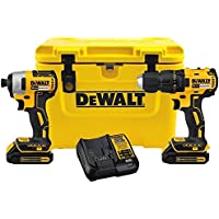 Dewalt 2-Tool 20-Volt Lithium Ion Cordless Combo Kit with Cooler